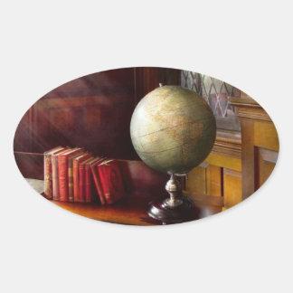 Lawyer - A world traveler Oval Sticker