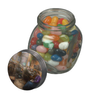Lawyer - Always taking notes - 1902 Glass Candy Jars