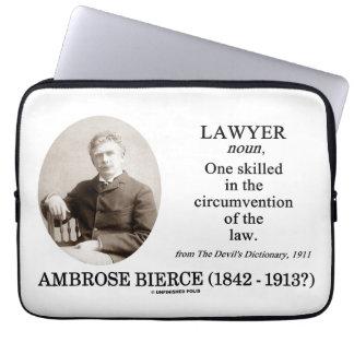 Lawyer (Ambrose Bierce The Devil's Dictionary) Laptop Sleeve