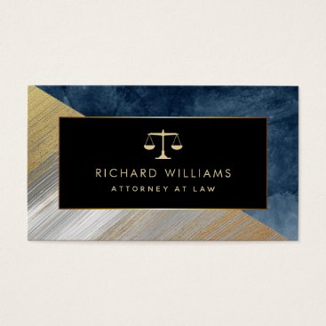 Lawyer Attorney At Law Business Cards