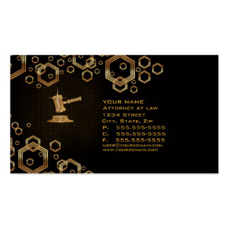 Lawyer Attorney Business Card (multiple)