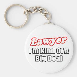 Lawyer...Big Deal Basic Round Button Keychain