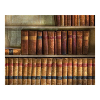 Lawyer - Books - Law books Flyer