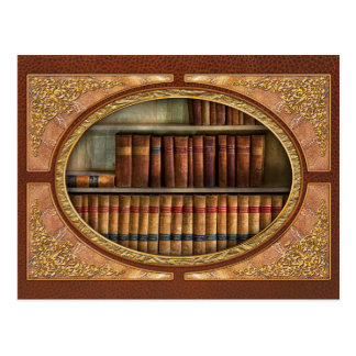 Lawyer - Books - Law books Postcard