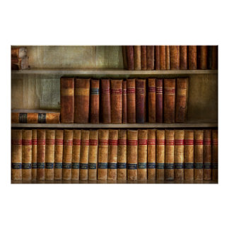 Lawyer - Books - Law books Posters