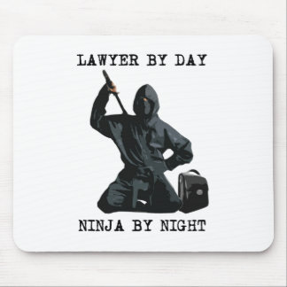 Lawyer By Day, Ninja By Night Mouse Pad