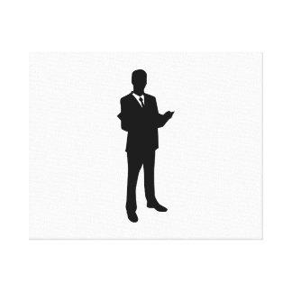 Lawyer Canvas Print