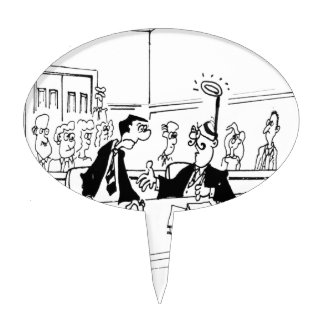 Lawyer Cartoon 5299 Cake Topper