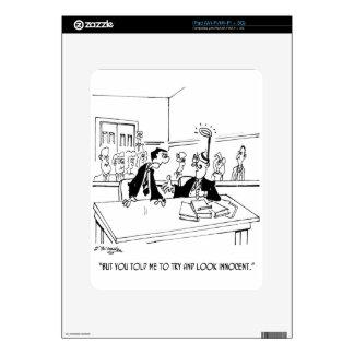Lawyer Cartoon 5299 Skins For The iPad