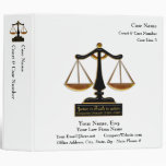 Lawyer Case Book (Personalized) Binder