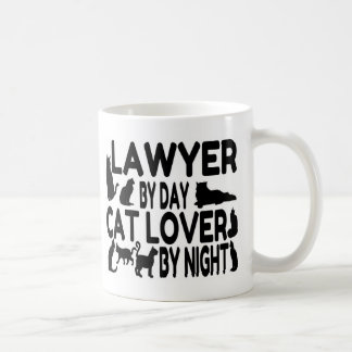 Lawyer Cat Lover Classic White Coffee Mug