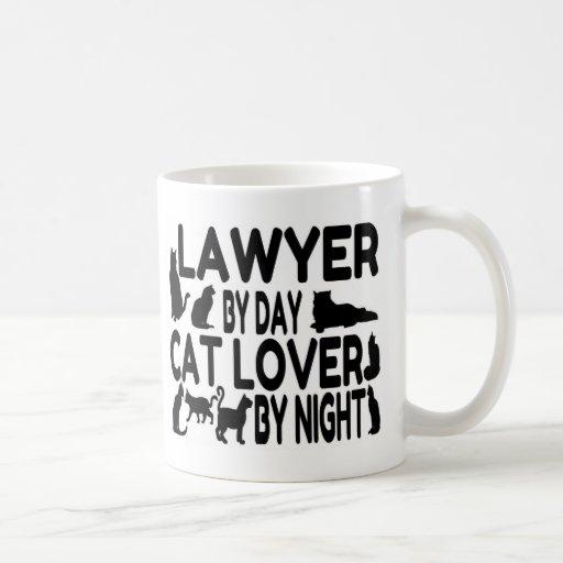 Lawyer Cat Lover Coffee Mug