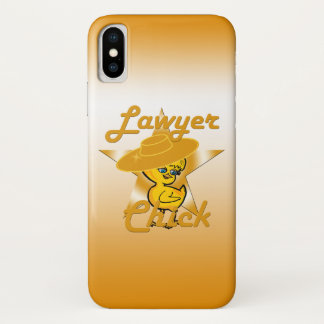 Lawyer Chick #10 iPhone X Case