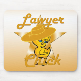 Lawyer Chick #10 Mouse Pad