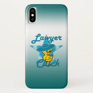 Lawyer Chick #7 iPhone X Case