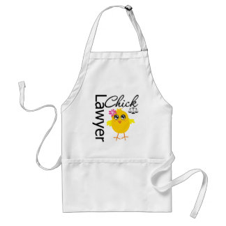 Lawyer Chick Adult Apron