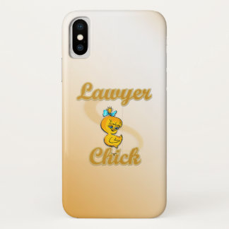 Lawyer Chick iPhone X Case