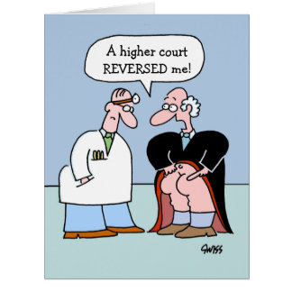 Lawyer Congratulations Funny Large Greeting Card