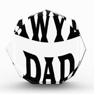 LAWYER DAD ACRYLIC AWARD