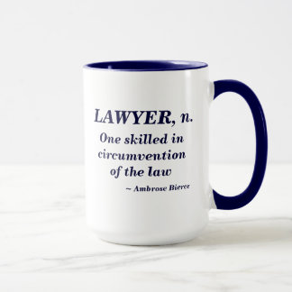 Lawyer Definition Mug