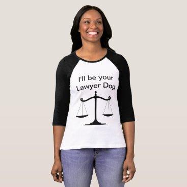Lawyer Themed Lawyer Dog Women's Long Sleeve T-Shirt