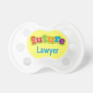 Lawyer (Future) Pacifier Gift