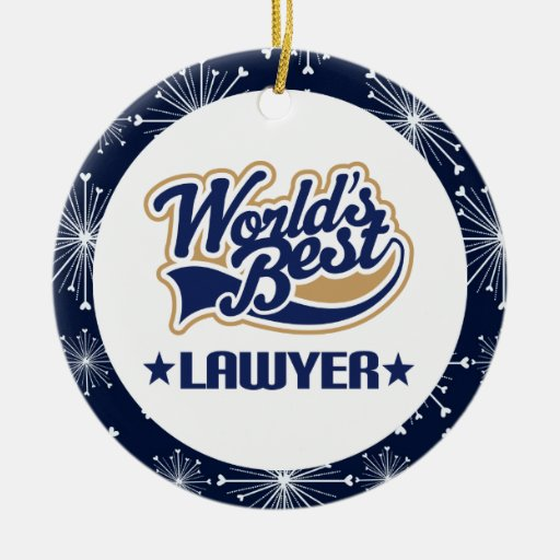 Lawyer Gift Ornament