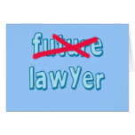 Lawyer Graduation Products Card