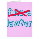 Lawyer Graduation Products Cards