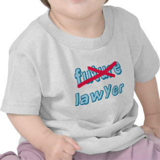 Lawyer Graduation Products Tee Shirt