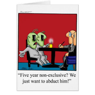 Lawyer Humor Greeting Card