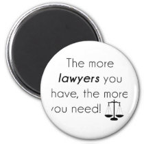 Lawyer humor magnet