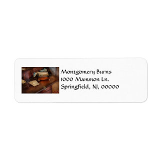 Lawyer - Important Documents Return Address Label