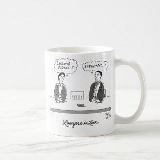 Lawyer in love coffee mug