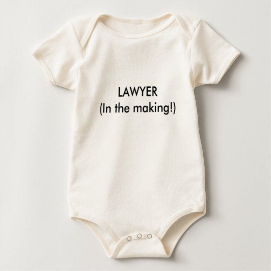 LAWYER(In the making!) Baby Bodysuit