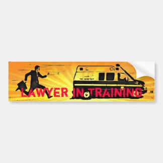 Lawyer in Training Car Bumper Sticker