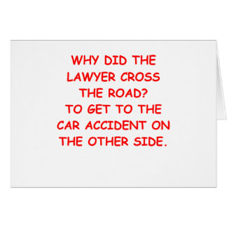 lawyer joke gifts and t-shirts card