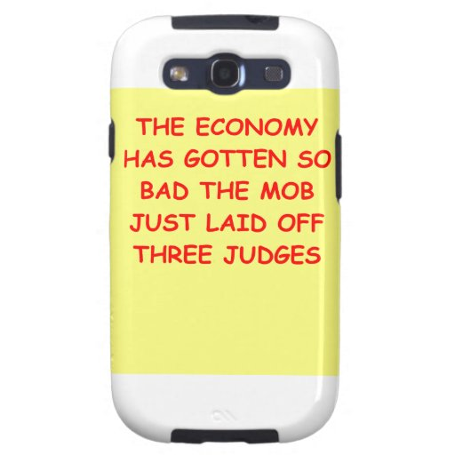 lawyer joke gifts and t-shirts samsung galaxy SIII covers