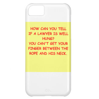 lawyer joke gifts and t-shirts iPhone 5C cover