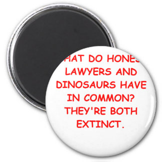 lawyer joke gifts and t-shirts 2 inch round magnet