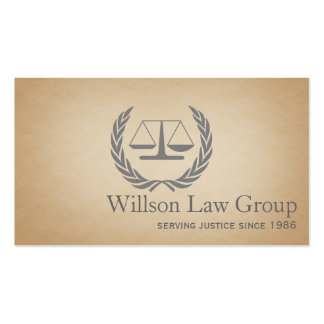 Lawyer Law Attorney Court Scale Consultant Judge Double-Sided Standard Business Cards (Pack Of 100)