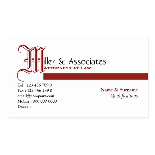 Tax lawyer business cards standard size page2 bizcardstudio lawyer law legal attorney firm business card templates wajeb Images