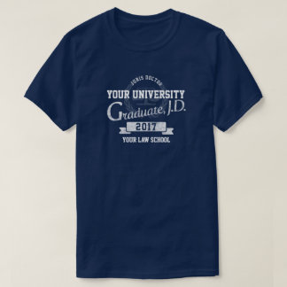Lawyer Law School Graduate Graduation T-Shirt