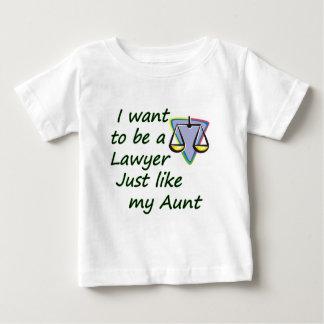 Lawyer like my aunt shirt