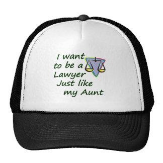 Lawyer like my aunt trucker hat