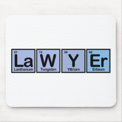 Mousepad with Lawyer design