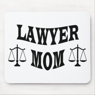lawyer mom mouse pad