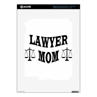 lawyer mom skins for iPad 3