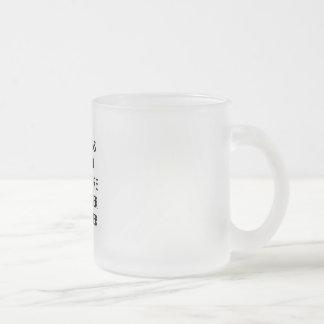 Lawyer Mug: Whereas, Herein... Frosted Glass Coffee Mug