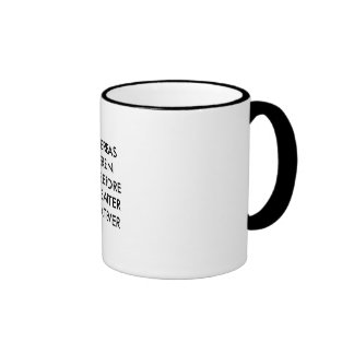 Lawyer Mug: Whereas, herein... Ringer Mug